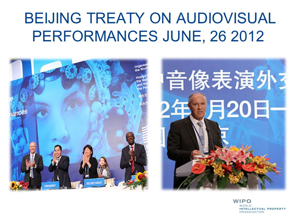 BEIJING TREATY ON AUDIOVISUAL PERFORMANCES JUNE,