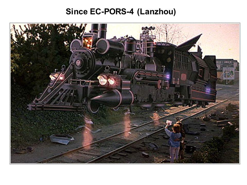 Since EC-PORS-4 (Lanzhou)