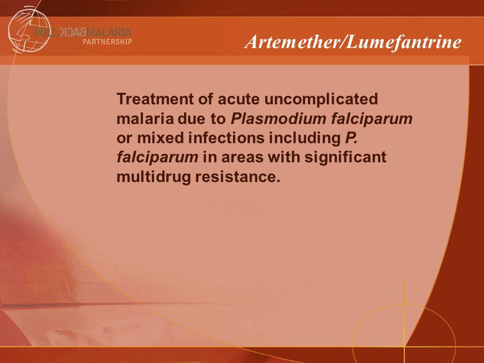 Model Model Description Units box Unit Price Coartem® (30X24) Artemether 20 mg + Lumefantrine 120 mg, tablets (6x4) treatment for patients over 35 kg 30$2.4 Coartem® (30X18) Artemether 20 mg + Lumefantrine 120 mg, tablets (6x3) treatment for patients from 25 to 34 kg 30$1.9 Coartem® (30X12) Artemether 20 mg + Lumefantrine 120 mg, tablets (6x2) treatment for patients from 15 to 24 kg 30$1.4 Coartem® (30X6) Artemether 20 mg +Lumefantrine 120 mg, tablets (6) treatment for patients from 5 to 14 kg.