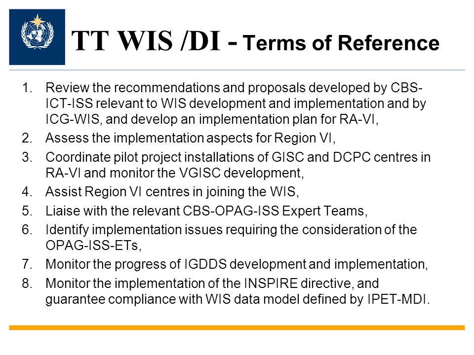 TT WIS /DI - Members of the TT Chair:G.-R.
