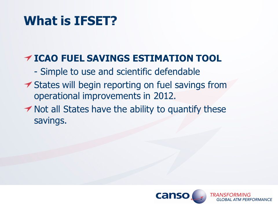 What is IFSET.