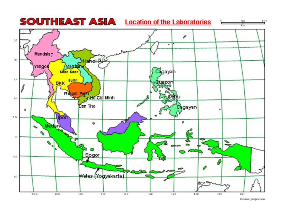 Progress for GF-TADs in Asia Southeast Asia (ASEAN) Functional RSU: ASEAN Secretariat Functional RSU: ASEAN Secretariat FMD: Thailand (Lead country) FMD: Thailand (Lead country) HPAI: Malaysia (Lead country) HPAI: Malaysia (Lead country) CSF: Philippines (Lead country) CSF: Philippines (Lead country) South Asia (SAARC) RSU: Nepal RSU: Nepal FMD: India (diagnostic lab.) FMD: India (diagnostic lab.) HPAI: Pakistan (diagnostic lab.) HPAI: Pakistan (diagnostic lab.) PPR: Bangladesh (diagnostic lab.) PPR: Bangladesh (diagnostic lab.)