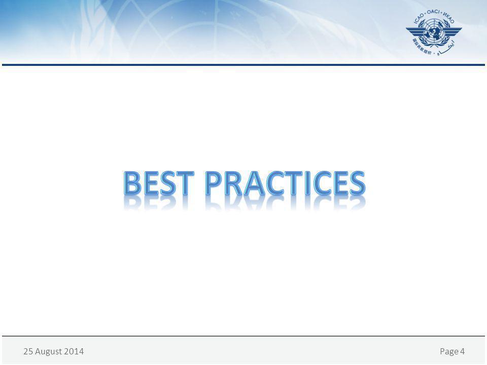 25 August 2014Page 5 U.S.Civil/Military Integration Experience U.S.