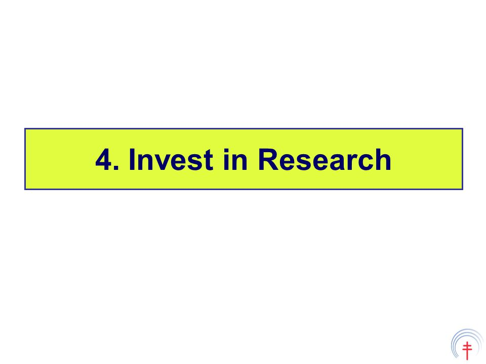4. Invest in Research