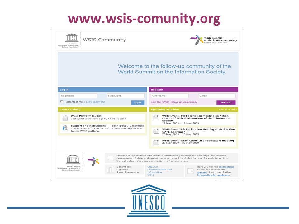 www.wsis-comunity.org
