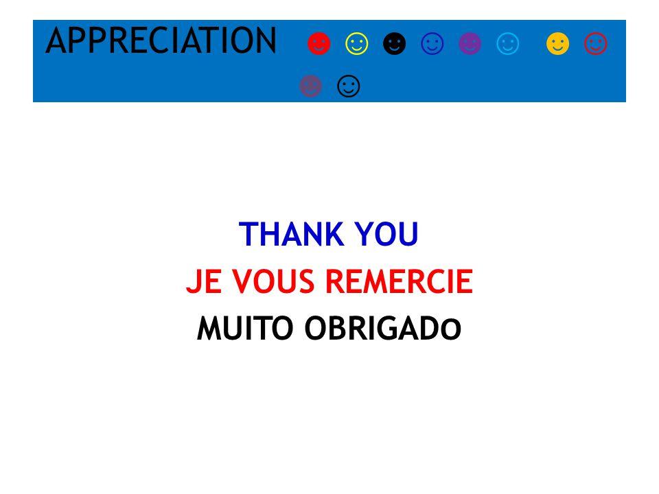 THANK YOU JE VOUS REMERCIE MUITO OBRIGAD O APPRECIATION ☻☺☻☺☻☺ ☻☺ ☻☺
