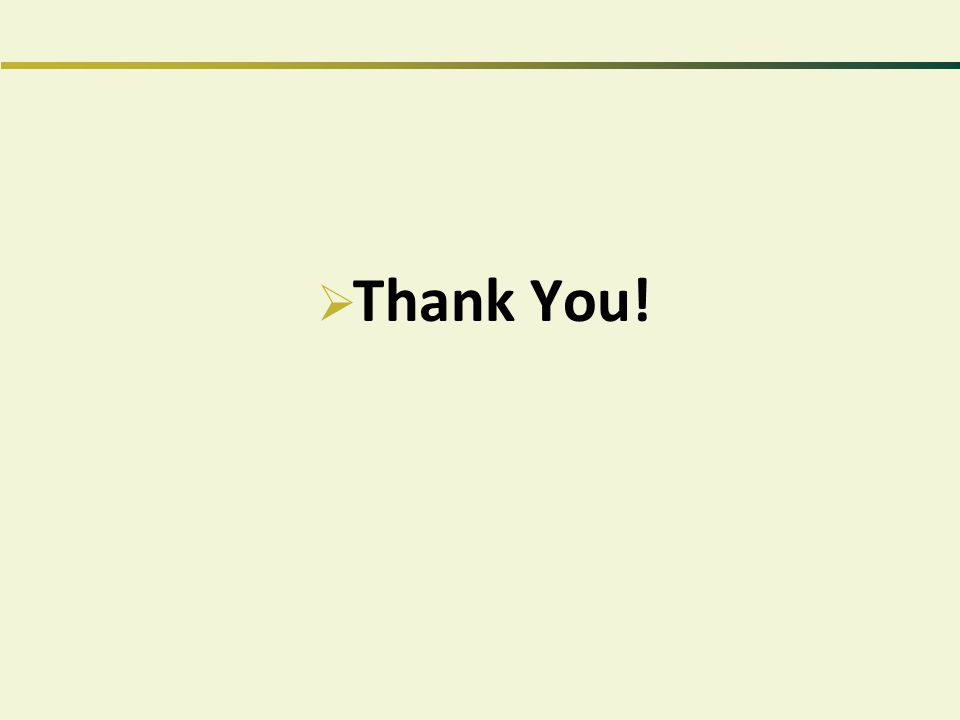  Thank You!