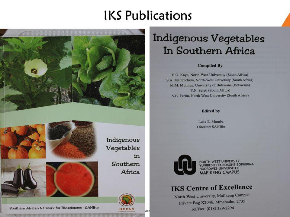 IKS Publications