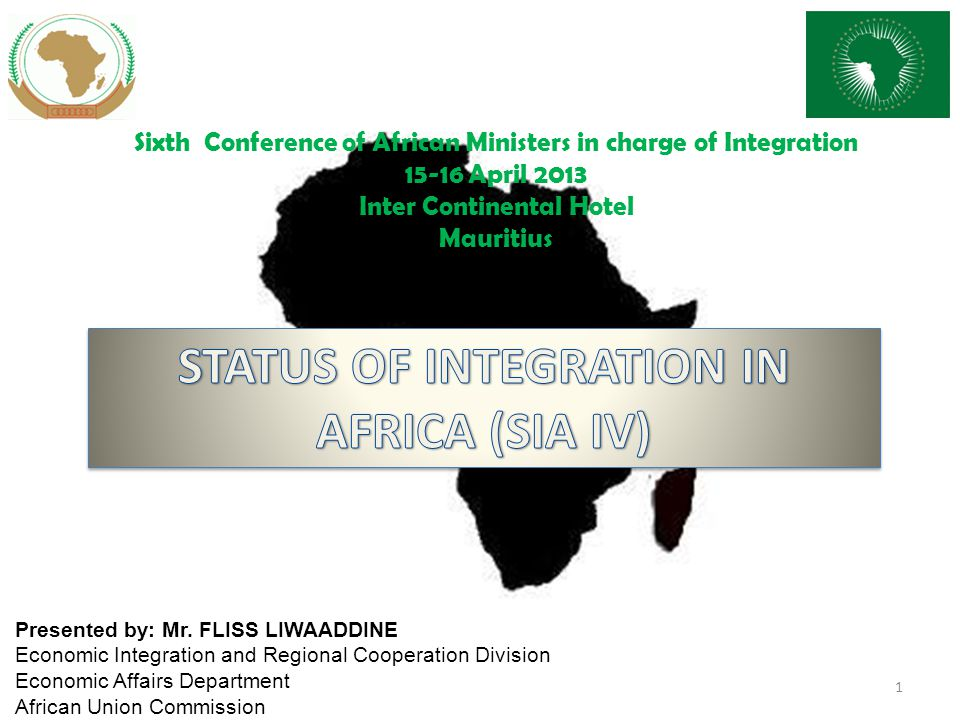 CONTINENTAL PROGRAMMES AND INITIATIVES 42