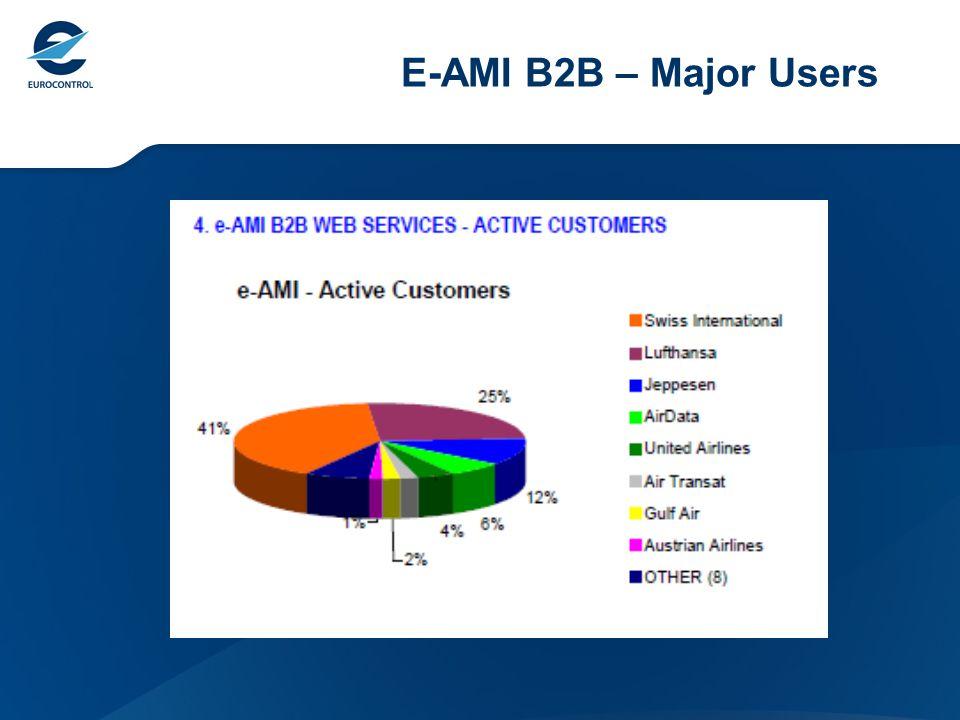 E-AMI B2B – Major Users