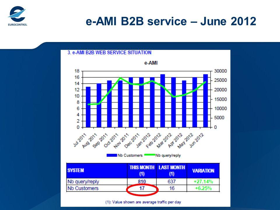 e-AMI B2B service – June 2012
