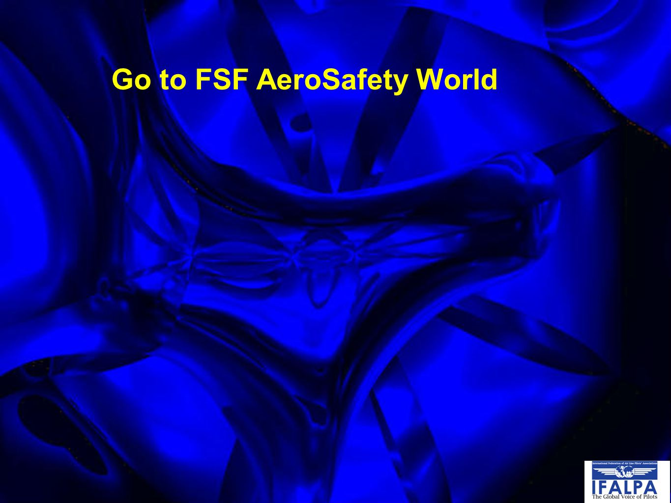 Go to FSF AeroSafety World