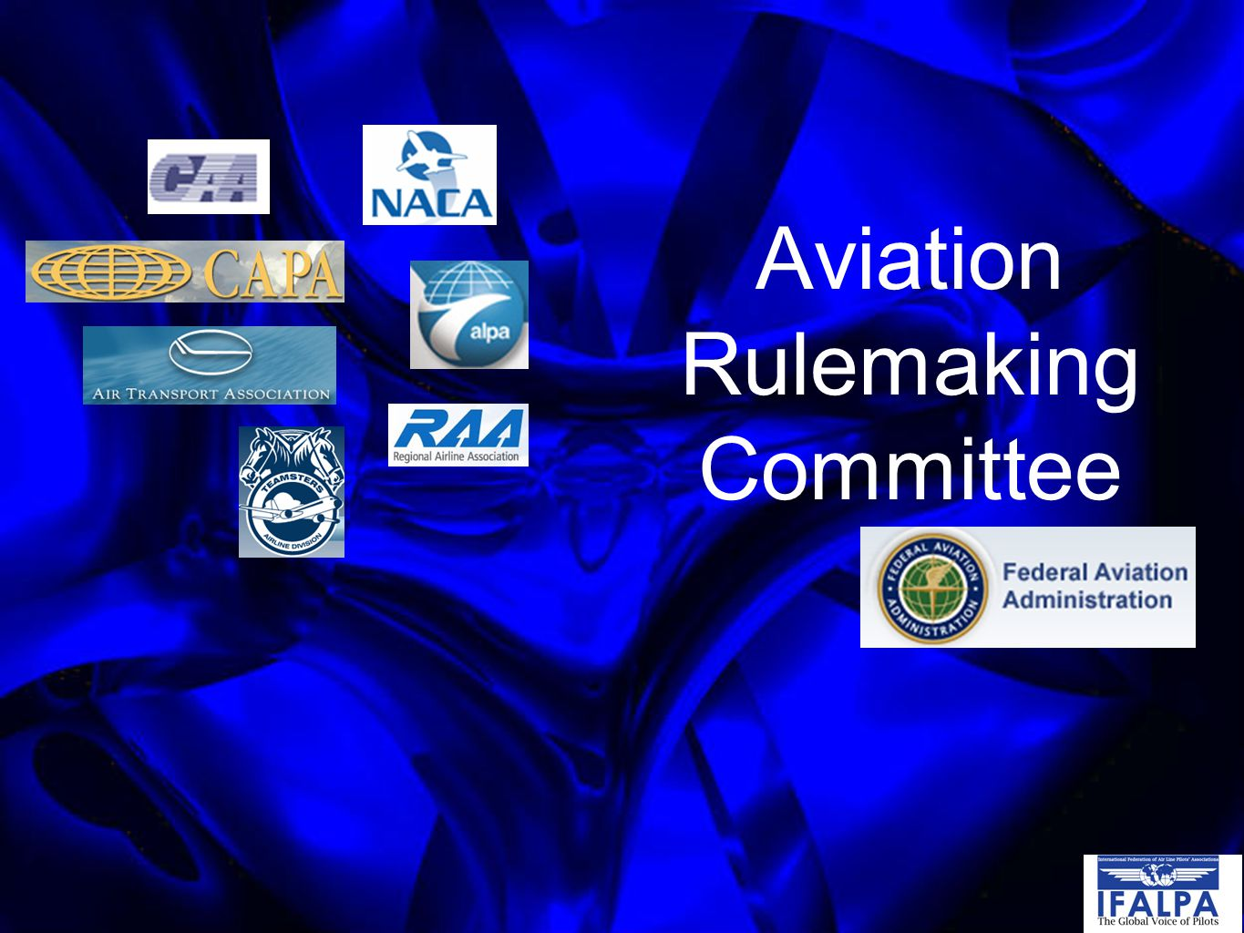 Aviation Rulemaking Committee