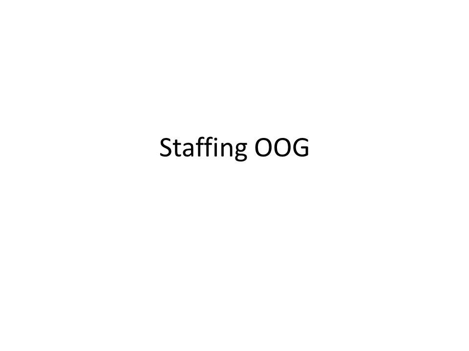 Staffing OOG