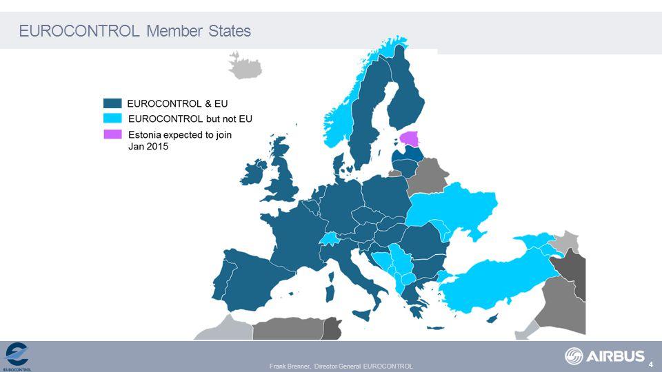 Frank Brenner, Director General EUROCONTROL EUROCONTROL Member States 4