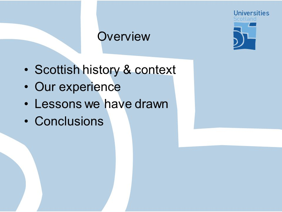 FQHE: Timescales Garrick – 1997 Parallel processes for FQHE & SCQF Design – inclusive process Consultation with HE sector & wide range of stakeholders Publication – January 2001 Implementation – 2003/04