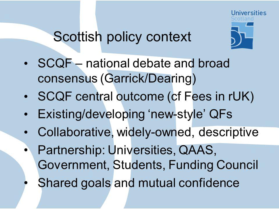 National context Political context Legislation.Voluntary.
