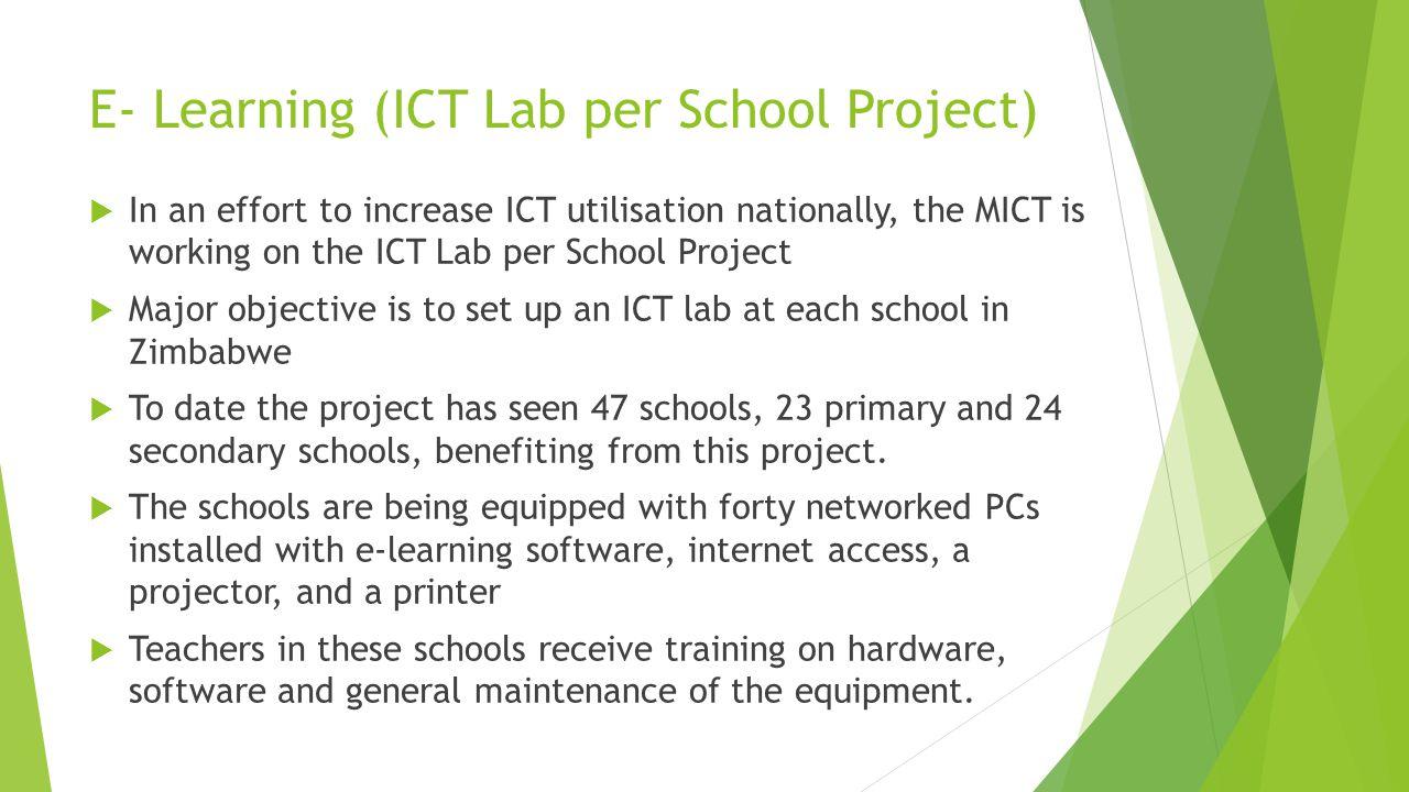 ICT lab at a School