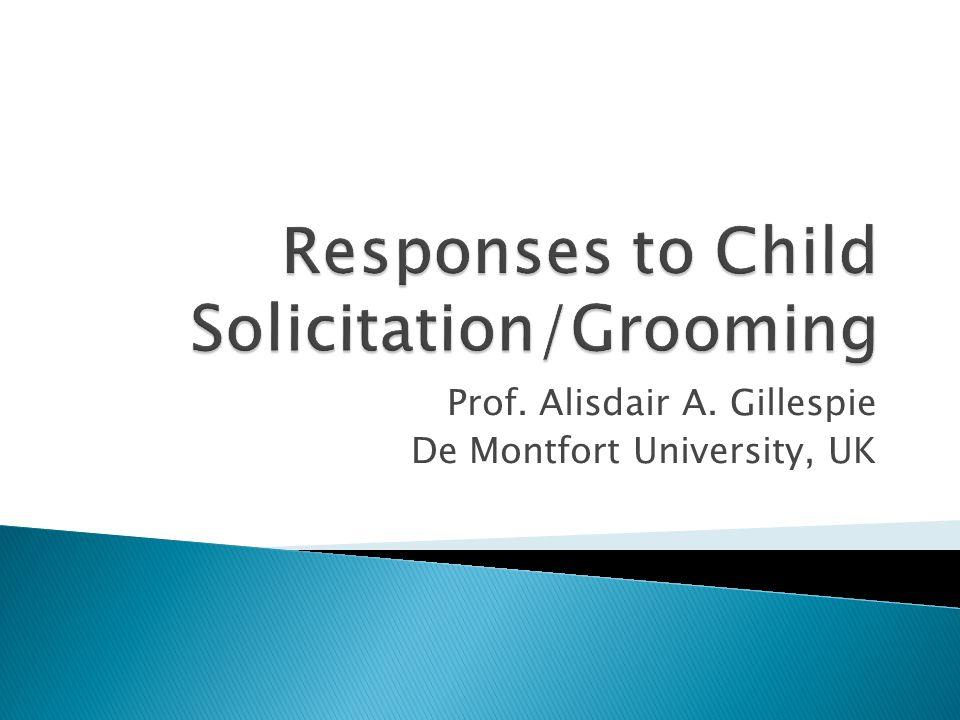 Prof. Alisdair A. Gillespie De Montfort University, UK