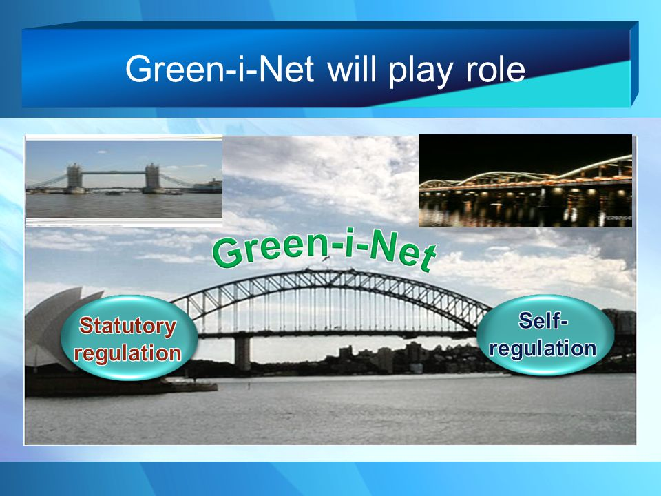 Green-i-Net will play role
