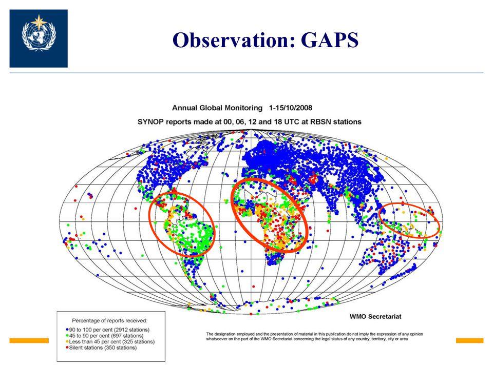 Observation: GAPS