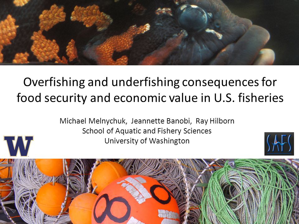 Overfishing and underfishing consequences for food security and economic value in U.S.