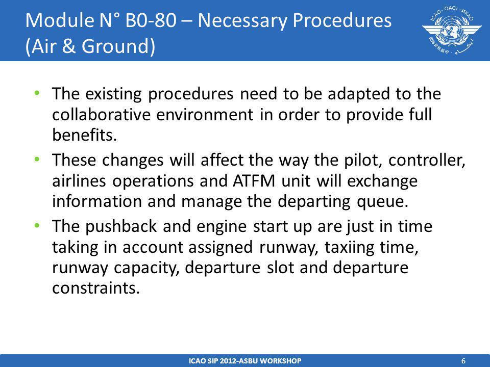7 Avionics – No airborne equipment is required.