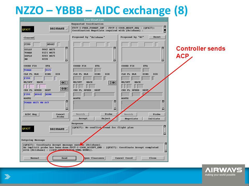 NZZO – YBBB – AIDC exchange (8) Controller sends ACP