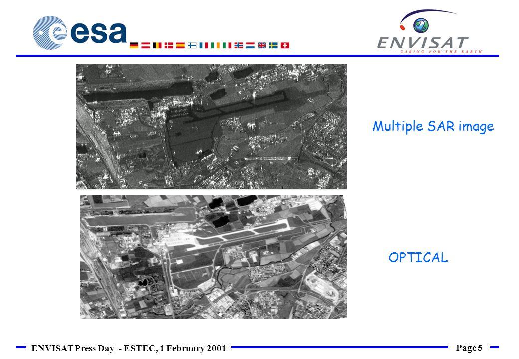 Page 6 ENVISAT Press Day - ESTEC, 1 February 2001 An area of Milano (~2,5x2,5 kmq)