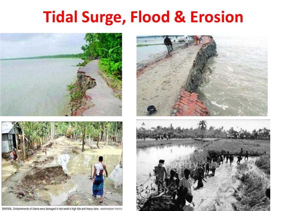 Tidal Surge, Flood & Erosion
