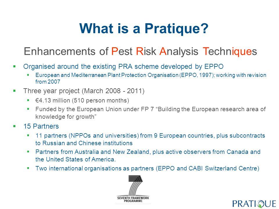 What is a Pratique.