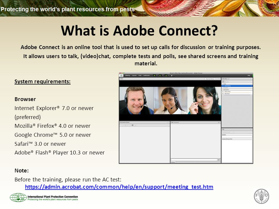 What is Adobe Connect.