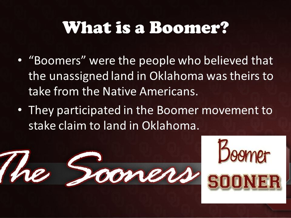 What is a Boomer.