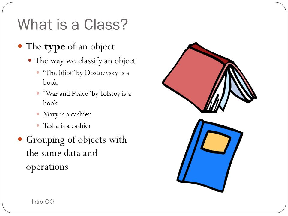 Intro-OO Inheritance in our Models One class can inherit from another Gets all the fields and methods The class you inherit from is called Parent, superclass, base class The class doing the inheriting is called Child, subclass, derived class Person Student Parent Child