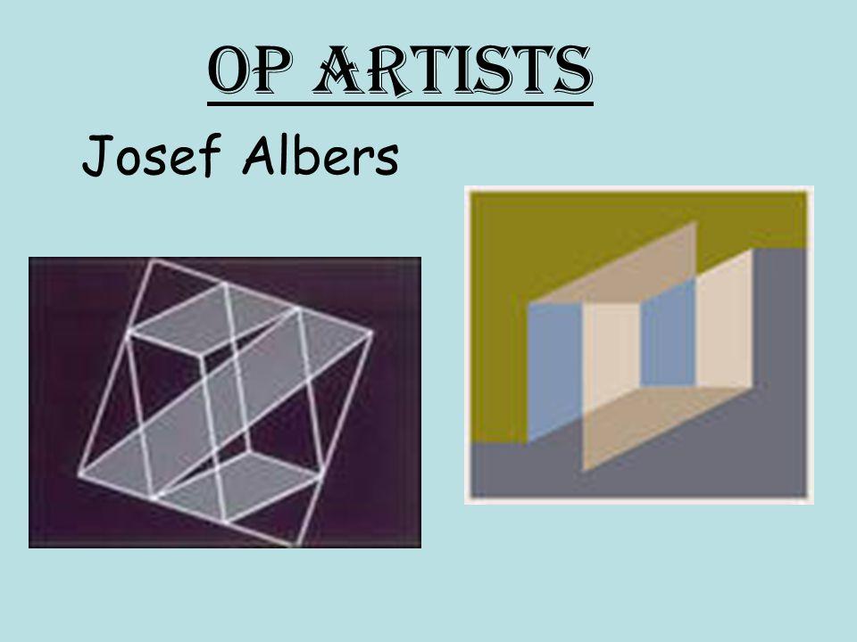 Op Artists Josef Albers