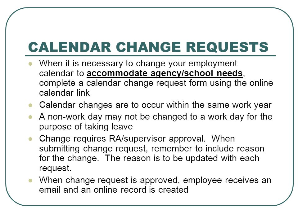 SCHEDULES Weekly schedules must be submitted and/or readily available to the supervisor and secretary.