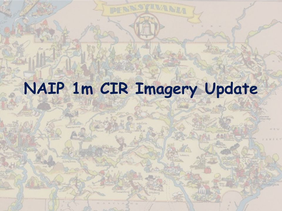NAIP 1m CIR Imagery Update
