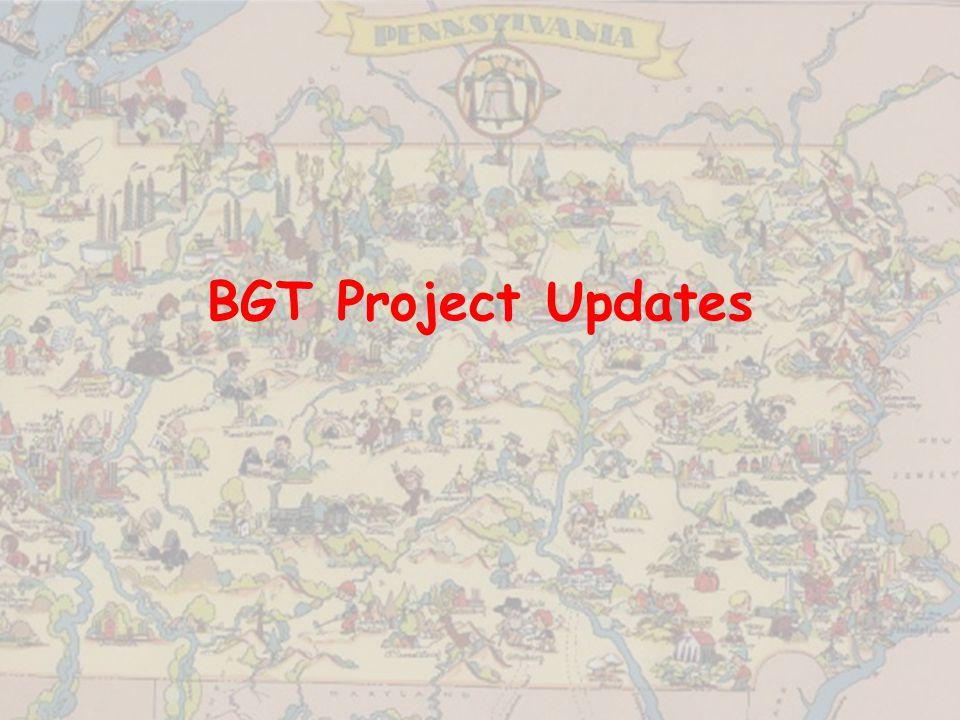 BGT Project Updates