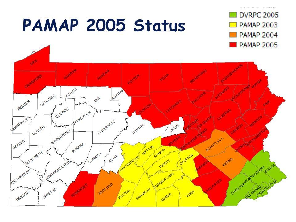 PAMAP 2005 Status