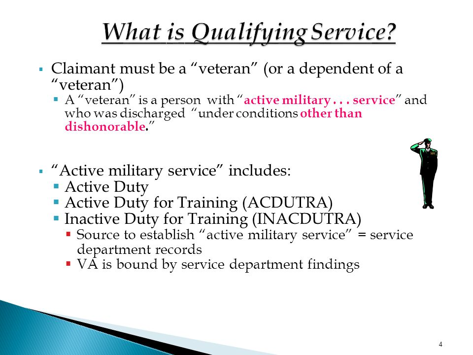 3  Qualifying service (basic eligibility)  Current disability (element)  In-service injury or disease or aggravation of such(element)  Nexus betwe