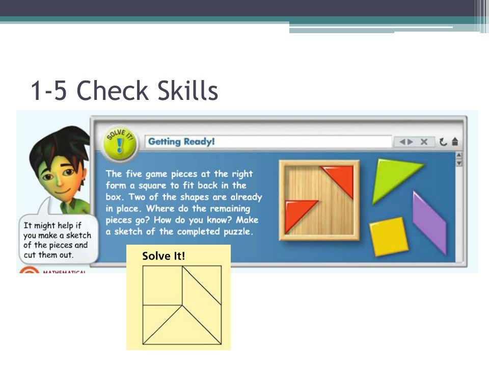 1-5 Check Skills