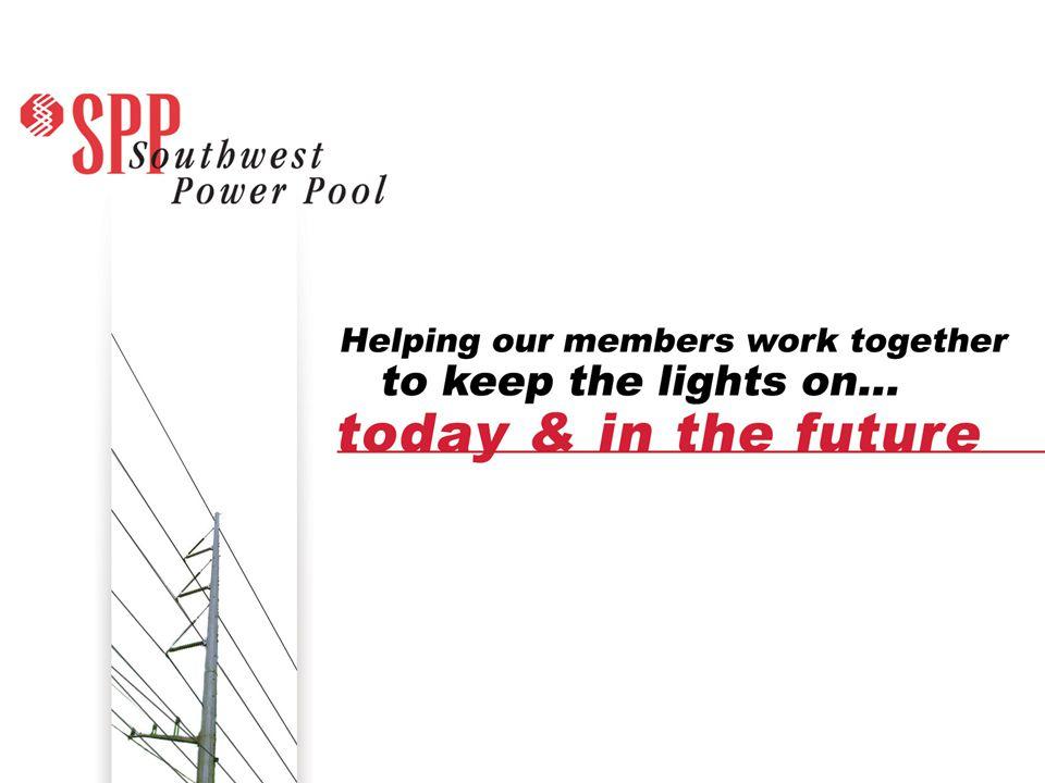 SPP.org 12 Wind In Service: 2001 Source: NREL 2009