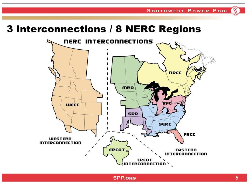 SPP.org 66 Operating Region 370,000 square miles service territory 50,575 miles transmission lines: 69 kV – 16,182 miles 115 kV – 10,041 miles 138 kV – 9,284 miles 161 kV – 4,469 miles 230 kV – 3,831 miles 345 kV – 6,662 miles 500 kV – 106 miles