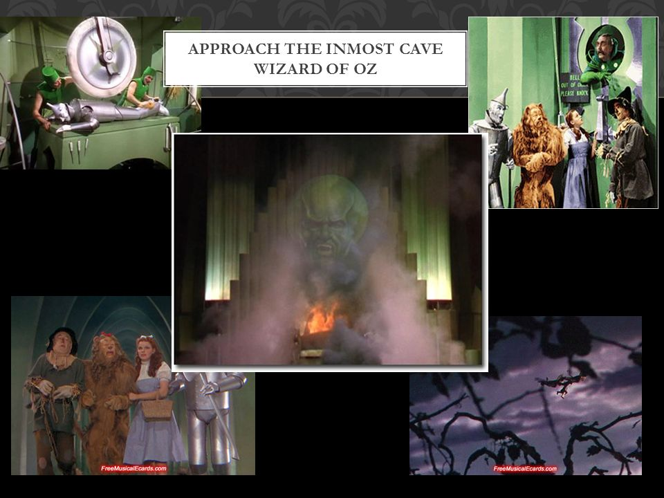 APPROACH THE INMOST CAVE WIZARD OF OZ