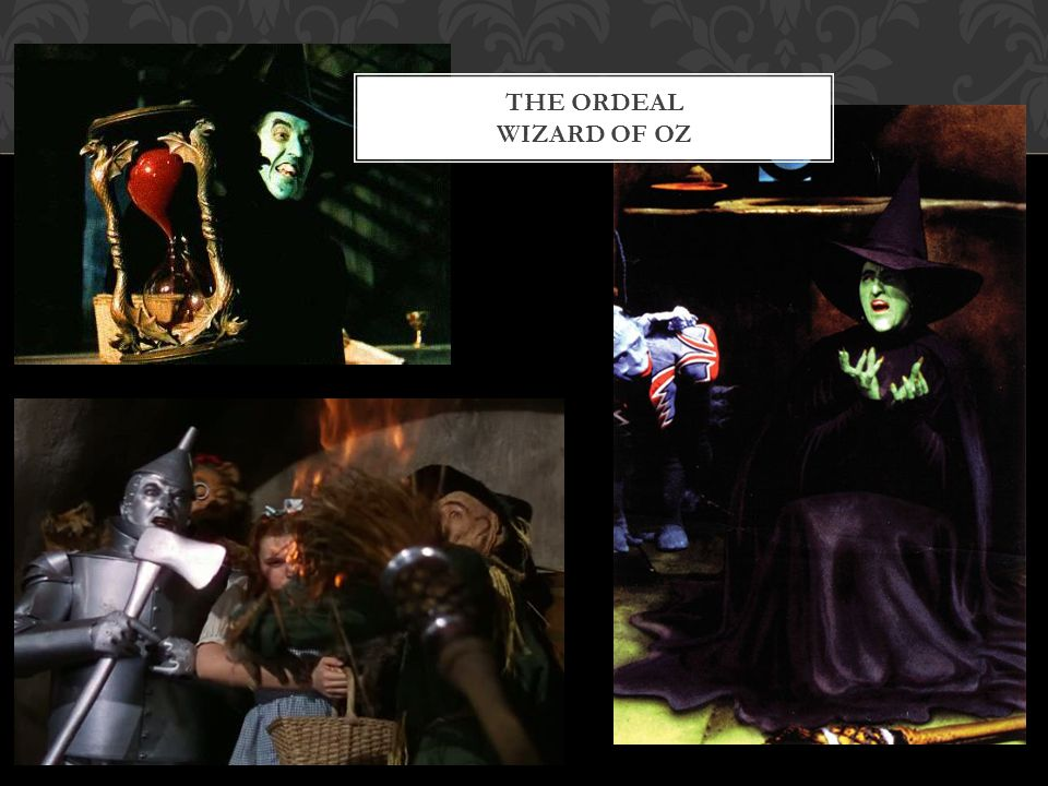 THE ORDEAL WIZARD OF OZ