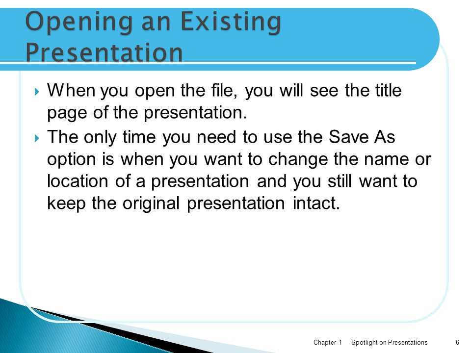  Along the left side of the screen, there are two options to view our presentation: Slides view and Outline view.