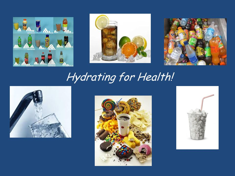 Hydrating for Health!