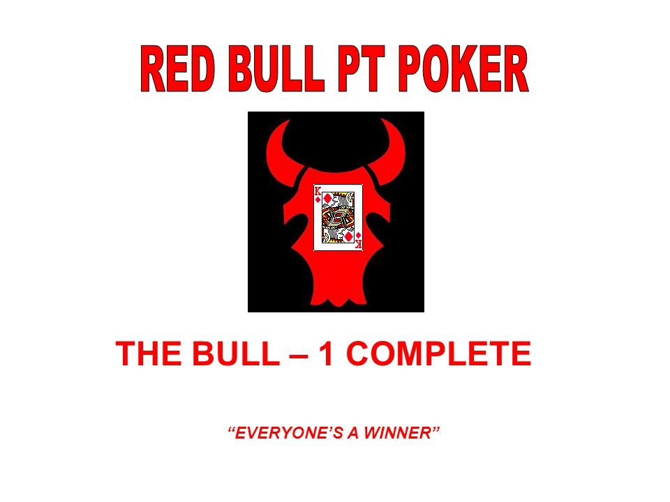 THE BULL – 1 COMPLETE EVERYONE'S A WINNER