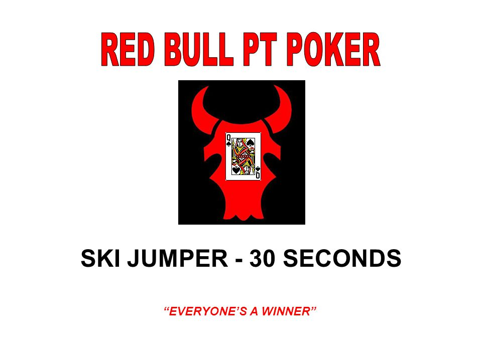 SKI JUMPER - 30 SECONDS EVERYONE'S A WINNER