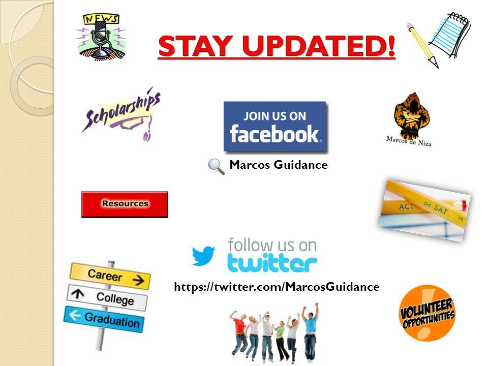 https://twitter.com/MarcosGuidance Marcos Guidance